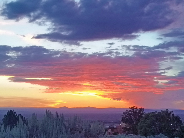 Taos nmsunset flute music